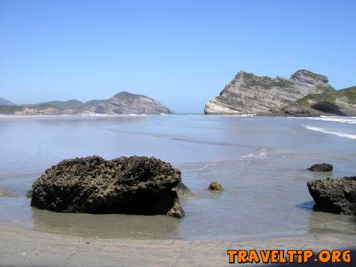 New Zealand - Nelson - Wharariki beach -