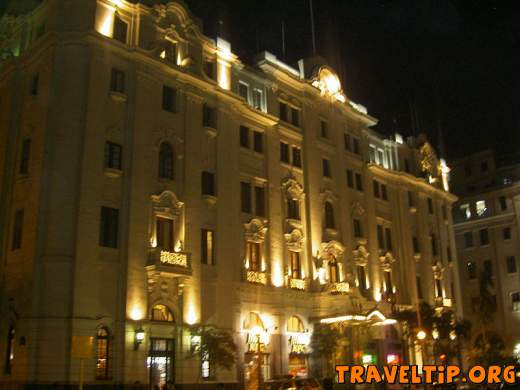 Peru - Lima - Hostels Peru - Bolivar Hotel at Lima city Plaza San Martin the second most important in Lima