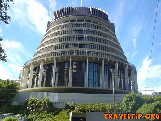 New Zealand - Wellington - Parliment Buildings -